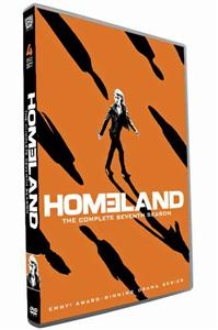 Homeland Seasons 7 DVD Boxset