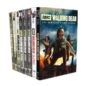 The Walking Dead Seasons 1-8 DVD Boxset