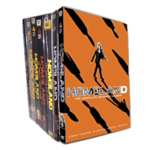 Homeland Seasons 1-7 DVD Boxset