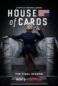 House of Cards Seasons 1-6 DVD Box Set