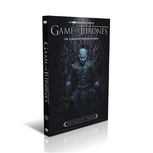 Game of Thrones Seasons 8 DVD Boxset