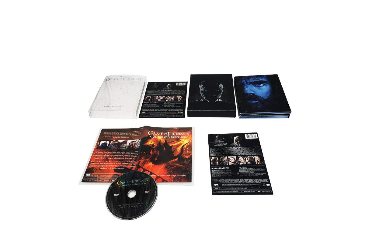 Game of Thrones Season 7 DVD Boxset Freeshipping