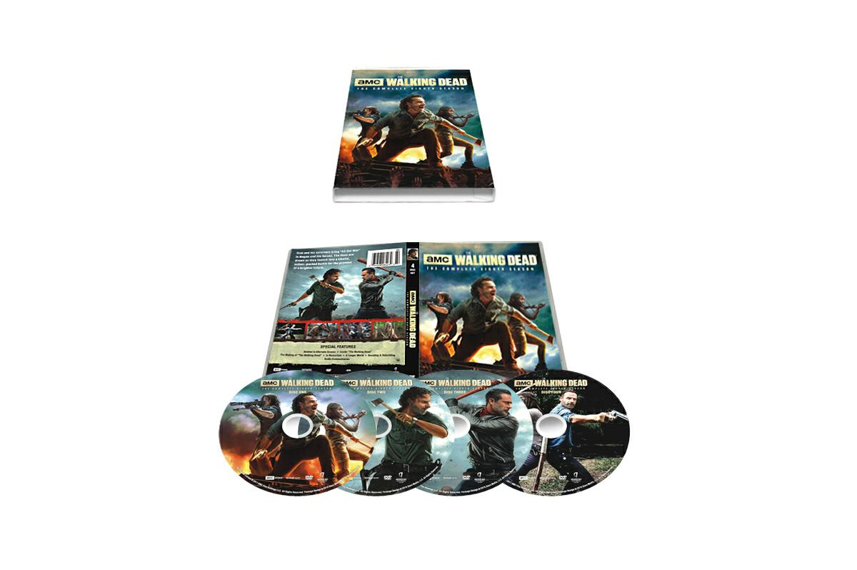 The Walking Dead Season 7 DVD Boxset Freeshipping